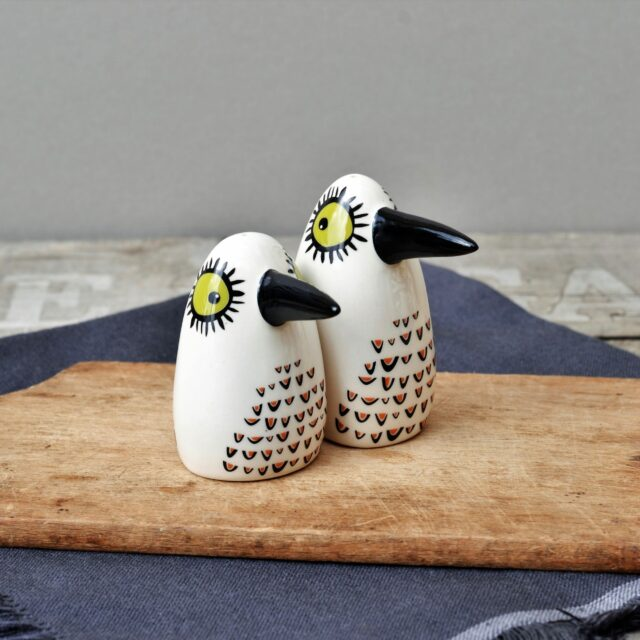 Birdy Salt & Pepper Shakers
