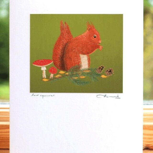 BIRD Red Squirrel 040 LIGHT