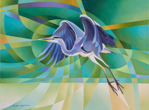 CardHeron-taking-Flight ALISON INGRAM
