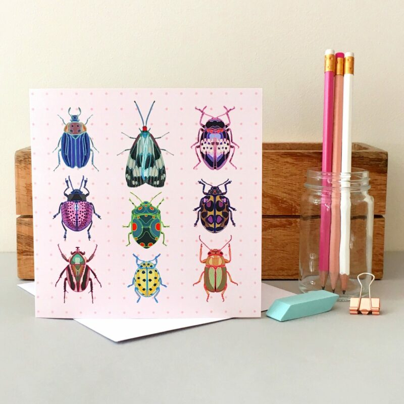 GCL035 - Beautiful Bugs card