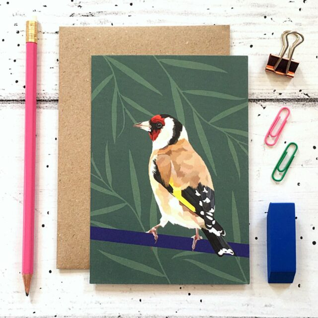 GCS015 - Goldfinch card