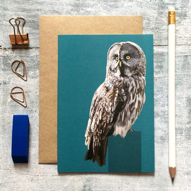 GCW015 - Great Grey Owl card