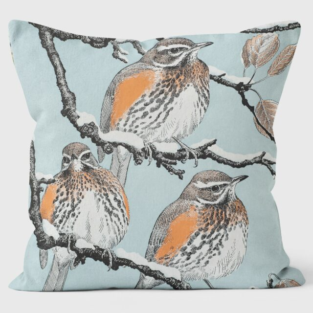 Robert Gillmor Redwings Cushion