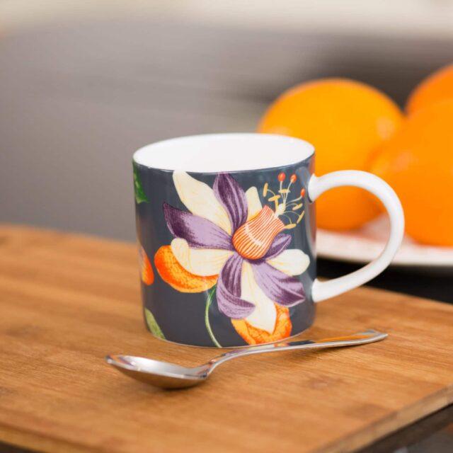UW RHS Passiflora Mug LIFESYTLE