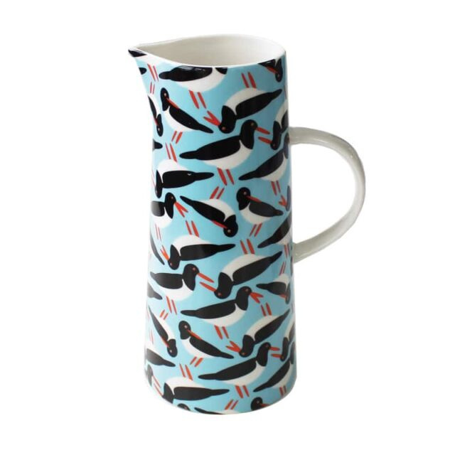 OYSTERCATCHERS TALL JUG