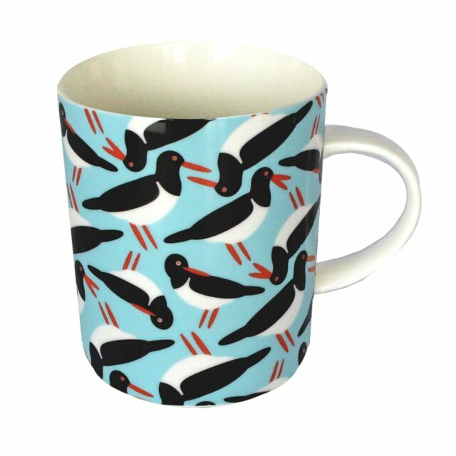 i like birds OYSTER CATCHER MUG