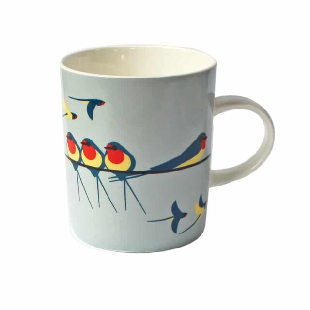 i like birds SWALLOWS MUGS 294755Z