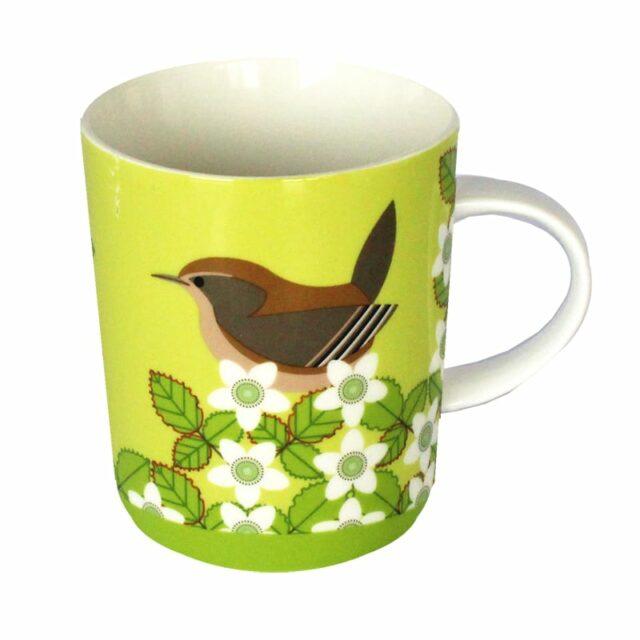 i like birds WREN MUG