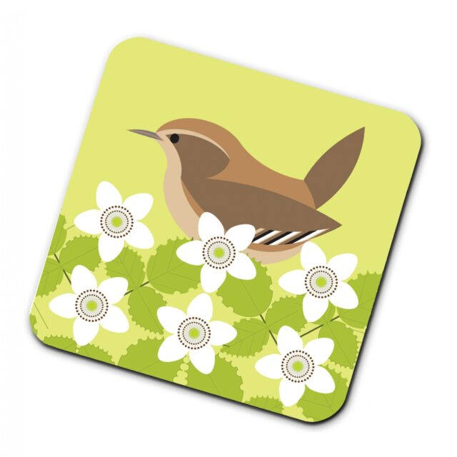 302937Y i like birds 4 pack coasters Wren