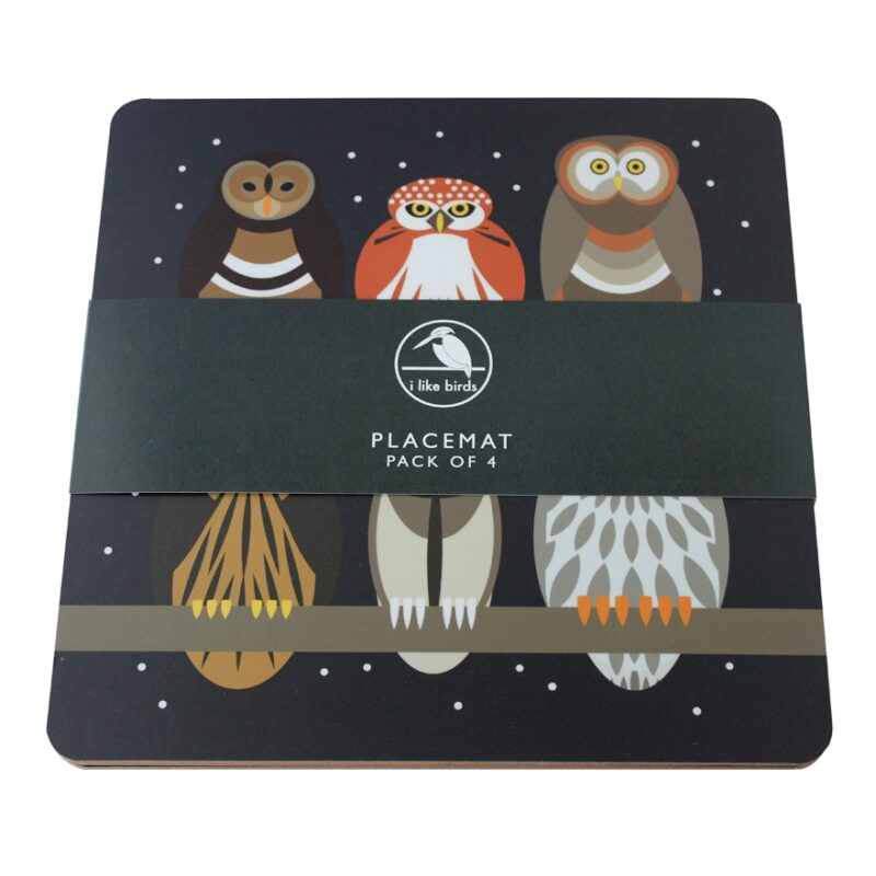 owls placemats