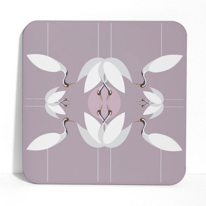 I like birds Cranes Placemat