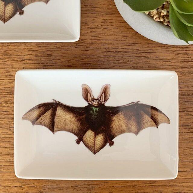 Bat Trinket Tray on a table