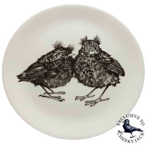 baby robins plate