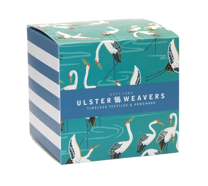 cranes mug in matching gift box