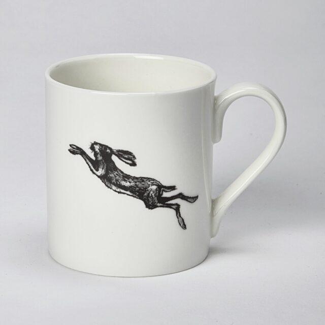 large hare mug