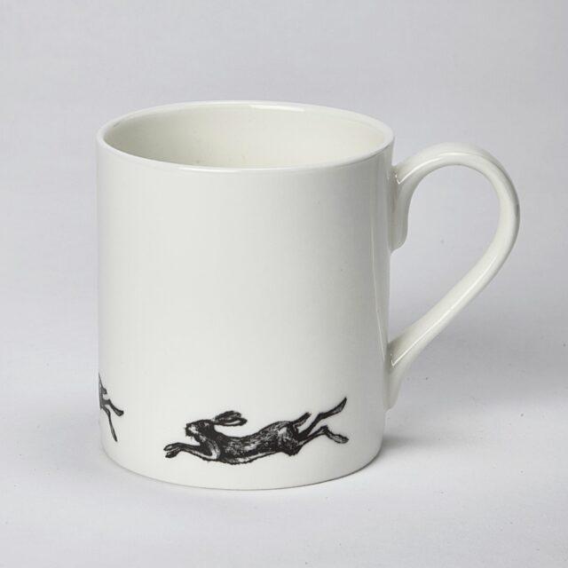 small hare mug