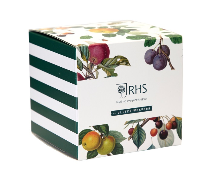 rhs fruits mug in matching gift box