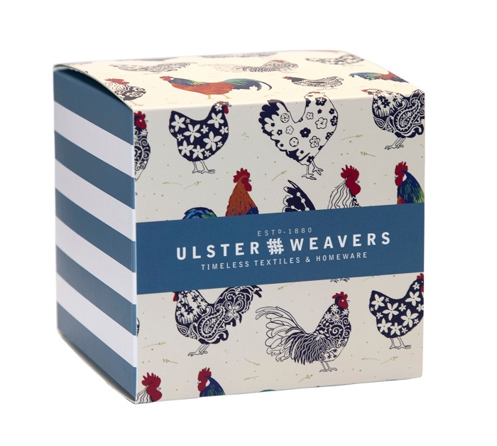 rooster mug in matching gift box