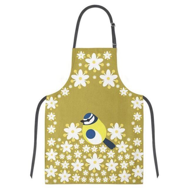 blue tit apron