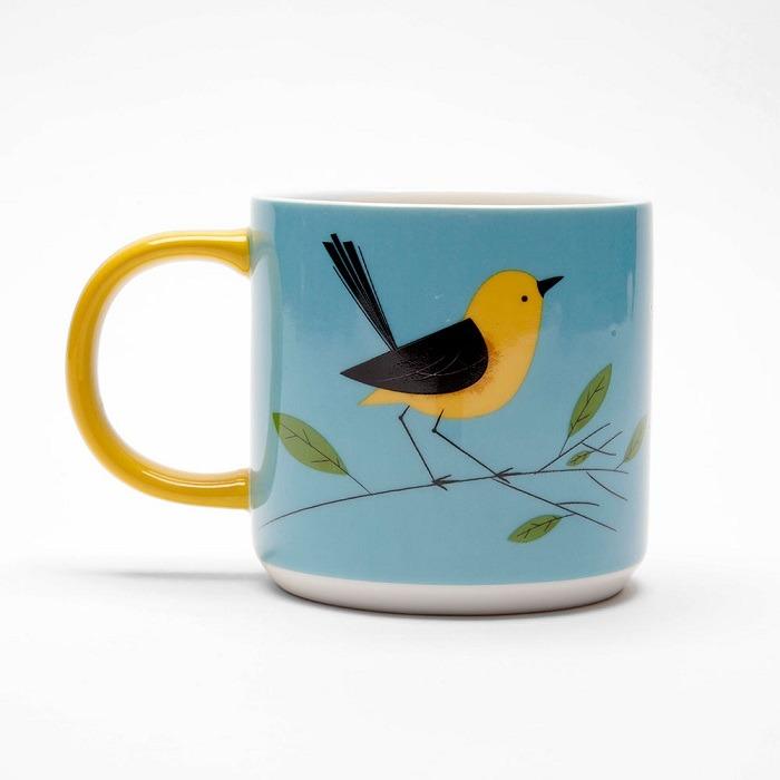 wagtail mug birdy collection