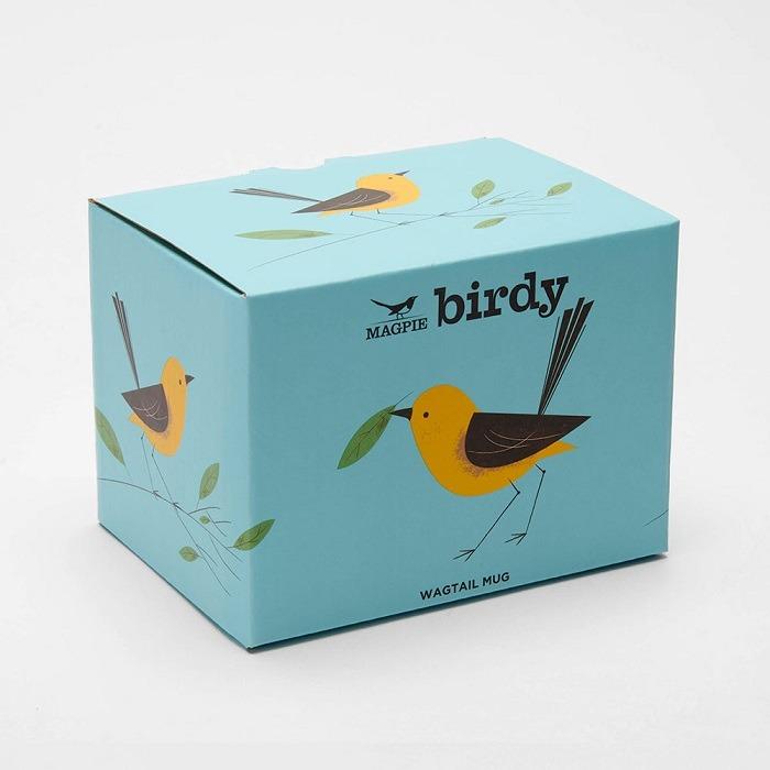 wagtail mug in box