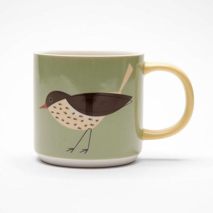 thrush mug birdy collection