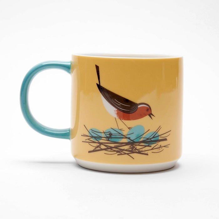 robin mug birdy collection by magpie